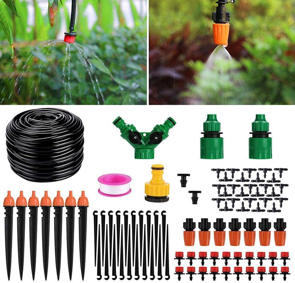 Irrigation Kit Department store 30 40M Micro System Drip Adjusta Spring new work with