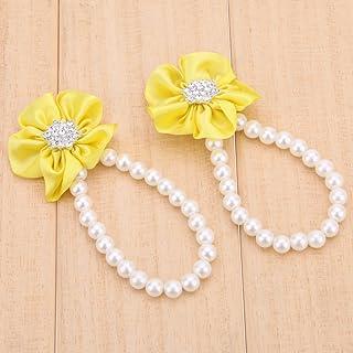 Hjku - Cavigliera per neonati con mini fiore per culla, accessori per catena-110080