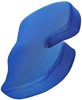 Cabilock Cojín de Asiento Almohada para El Coxis Ciática Dolor de Espalda Inferior Corrector de Postura para Silla de Ruedas de Coche Computadora Y Silla de Escritorio (Cojín de Gel de