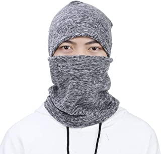 EGOGO Cationic Fabric Hat Windproof Ski Mask Neck Warm Full Face Cover Cap in Cold Weather Winter Motorcycle Mask Balaclavas hood Hat for Men Women and Teens E601-9