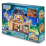 Pinypon Action - Robo en el Museo, set de juego de policías, monstruos y aventuras, con luces y sonidos para un juego divertido, incluye 2 muñecos Pinypon de una momia y un ladrón, Famosa, (700016647)