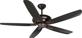 Craftmade ZE56OBG5 Downrod Mount, 5 Oiled Bronze Blades Ceiling fan, Oiled Bronze Gilded