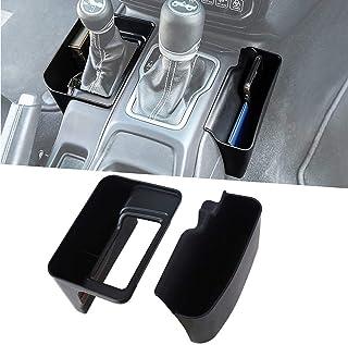 Heart Horse Gear Shift Tray Console Organizer for Jeep 2018-2020 Wrangler JL JLU & 2020 Gladiator JT, Console Side Pocket Organizer,Center Console Organizer, Interior Accessories…
