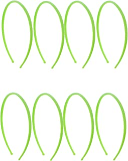green plastic headband