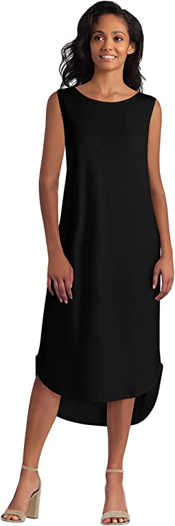 High-Low Hem Knit Dress