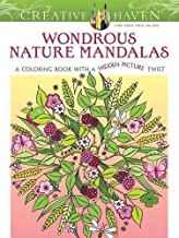 Creative Haven Wondrous Nature Mandalas: A Coloring Book with a Hidden Picture Twist (Creative Haven Coloring Books)