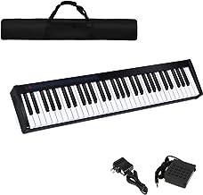 Costzon 61-Key Portable Digital Piano, Upgraded Premium Elec