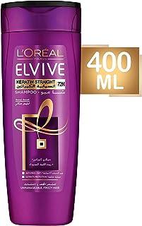 L'Oreal Paris Elvive Keratin Straight Shampoo 400ml