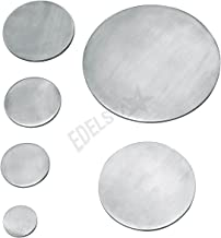Croso Circle Diameter 100mm, Material Thickness: 6mm Polished on One Side Stainless Steel V2A Pack of 102201133
