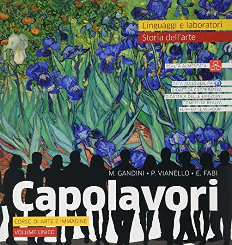 Capolavori. Arte. Per la Scuola media. Con e-book. Con espansione online. Con Libro: Catalogo dei capolavori
