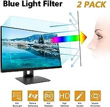 "24 in Anti Blue Light Laptop Screen Protector, Anti Blue Light & Glare Filter Film Eye Protection Blue Light Blocking Screen Protector for 24"" Widescreen Desktop Monitor Display 16:9 (24IN)"