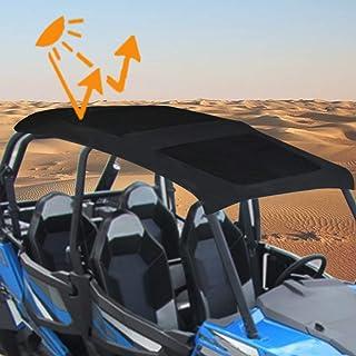 KOLEMO Soft Top, UTV Canvas Roof Top for 2015-2019 Polaris 900 XP 1000S Turbo 4 Seater