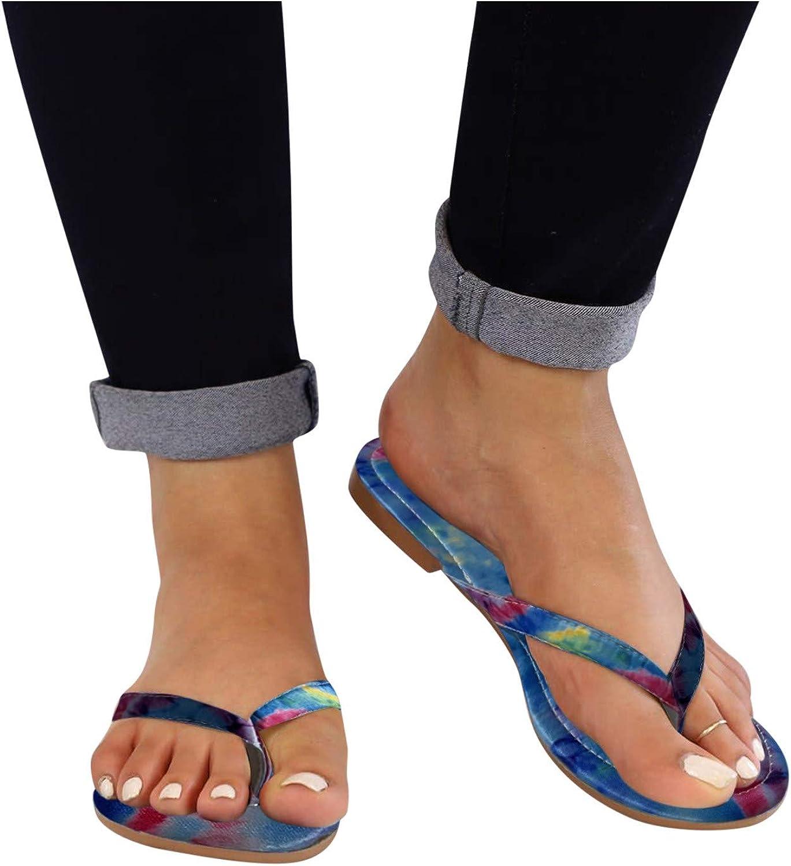 2021 autumn and winter new Hgndbloo Summer Thong Slippers for Women Flip Max 83% OFF Flat Flop Platform