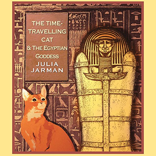 Time-Travelling Cat and the Egyptian Goddess, The audiobook cover art