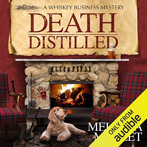 Death Distilled audiobook cover art