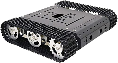 FLAMEER Kits Chassis de Wagon-citerne Robotics intelligent Board sur Chenilles pour Arduino TC100 - Moteur sans Code