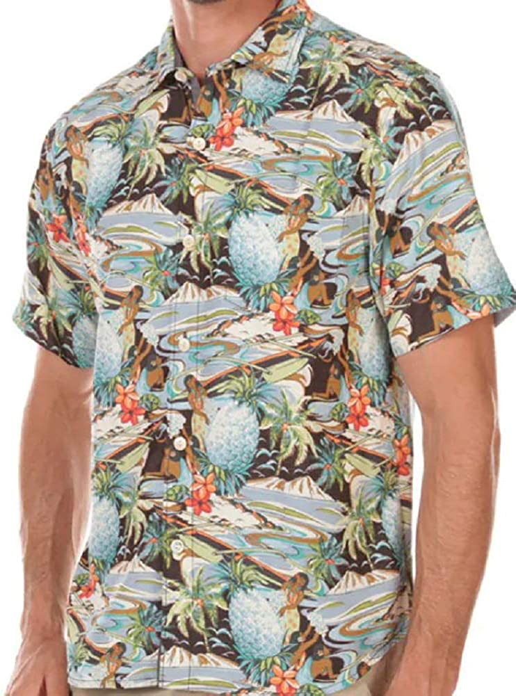Tommy Bahama Coconut Point Tropical Surf Camp Shirt