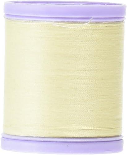 en promociones de estadios Coats Thread & Zippers Abrigos de Hilo Hilo Hilo y Cremalleras Dual Deber XP, de Rosca Fina 225-yard, Color Crema  a la venta