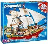Playmobil 4290 - Jeu de construction - Le Grand Bateau de Camouflage des Pirates