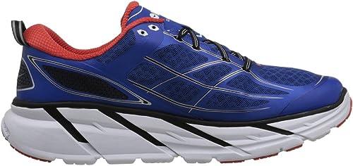 Hoka - Hausschuhe de running para herren Clifton 2 - Blau   Orange, 41