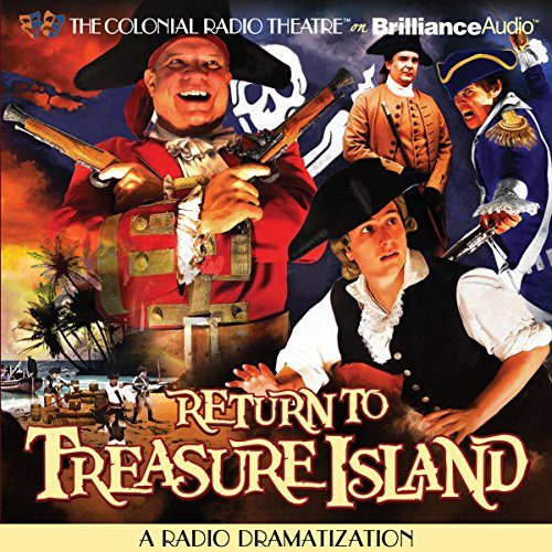 Return to Treasure Island audiobook cover art