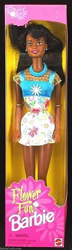 mejor servicio Flower Fun Barbie African-American Doll Doll Doll  toma