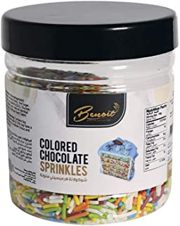 Benoit Colored Chocolate Sprinkles, 100 gm