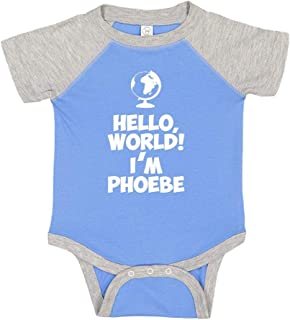 Everyone My Name is Phoebe Mashed Clothing Hi Personalized Name Baby Romper
