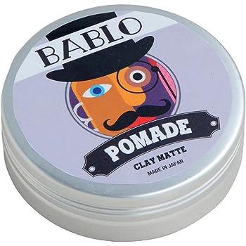 バブロ ポマード(BABLO POMADE) クレイマット ヘアワックス メンズ 整髪料 水性 ヘアグリース