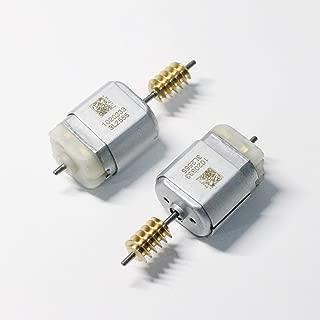 HGElectronic 2 Pcs DC 6V 30RPM 3mm Shaft Mini Metal Gearwheel Gear Motor GA12-N20