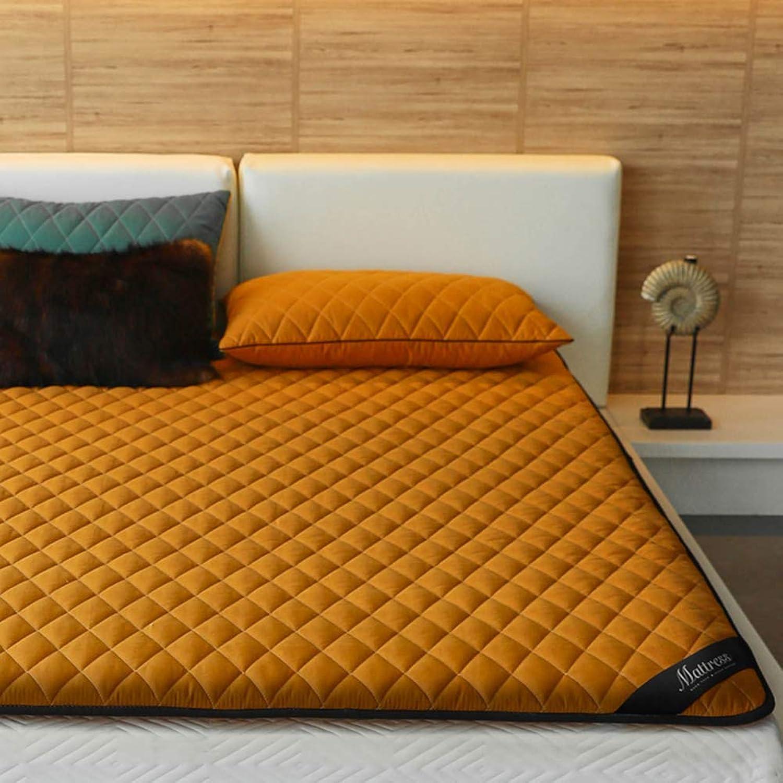 Breathable Floor Futon Mattress Topper, Tatami Sleeping Japanese Tatami Floor Mat Pad for Students Dorm Home 4cm Thickness -b Twin