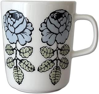 marimekko ( マリメッコ ) VIHKIRUUSU ( ヴィヒキルース ) マグカップ 単品 / ブルーグレー
