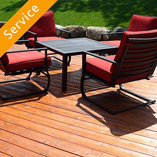 DE Test Patio Furniture Set Assembly - 3 pieces