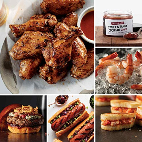 First-Class Fan's Feast from Omaha Steaks (Fully Cooked Chicken Wings, Private Reserve Wagyu Burgers, Filet Mignon Polish Sausages, Mini Lobster Grilled Cheese, Jumbo Cooked Shrimp, and more)