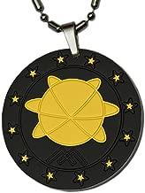 Aarogyam Energy Jewellery Women's Aarogyam Mineral Science Pendant (Black And Golden Plating)