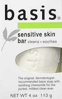 Basis Sensitive Skin Bar, 12 Count
