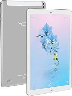 Tablet 10.1 Pulgadas YESTEL Android 8.1 Tablets con 3GB RAM & 32GB ROM y LTE Dual SIM Call 5.0 MP + 8.0 MP HD la Cámara y 8000mAH-Plata