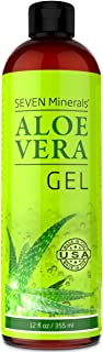 Best seven minerals aloe vera gel ingredients Reviews