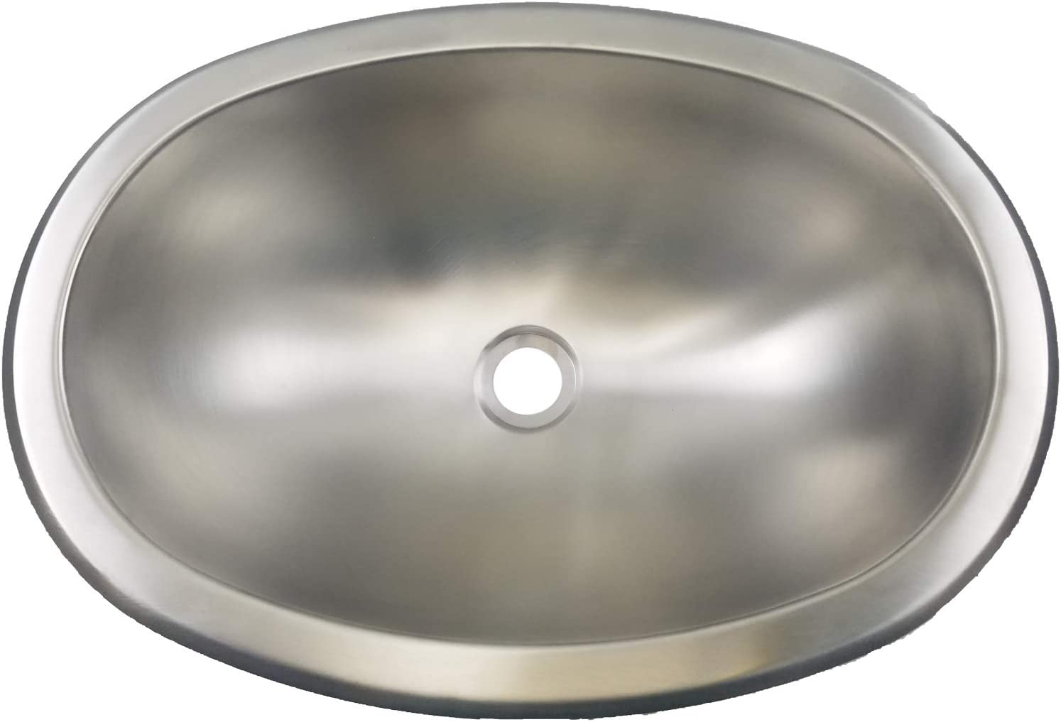 Class A Genuine Free Shipping Customs 300 Series Stainless Steel Sink Tucson Mall Oval x 13