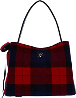 Tommy Hilfiger Charming Tommy Hobo Corporate Melton Check