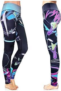 4926a70041 Platinum Sun Women's Swim Leggings UPF 30+ with Printed Designs