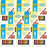 ODDITIES 81-1460 Washable Crayons 43556008, Multipack of 8