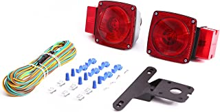 CZC AUTO 12V Mount Combination Trailer Light Kit for Over 80