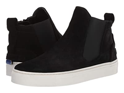 The FLEXX Sneak Peak (Black Suede) Women