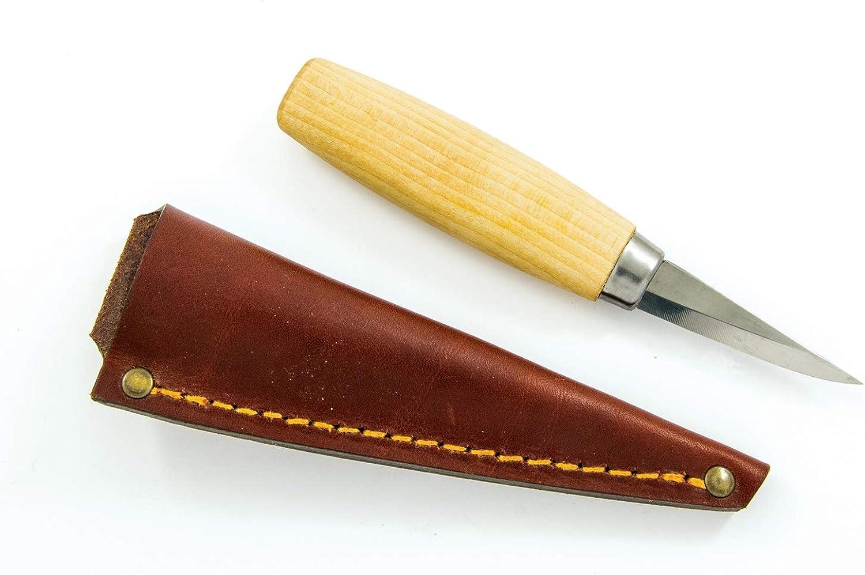 Casström Holz-Schnitzmesser Holz-Schnitzmesser Holz-Schnitzmesser Nr. 6 mit Rosanholzgriff Klinge aus Carbon-Stahl Schnitzwerkzeug Kerbschnitzmesser B075QFJ125  Elegante und robuste Verpackung 388028