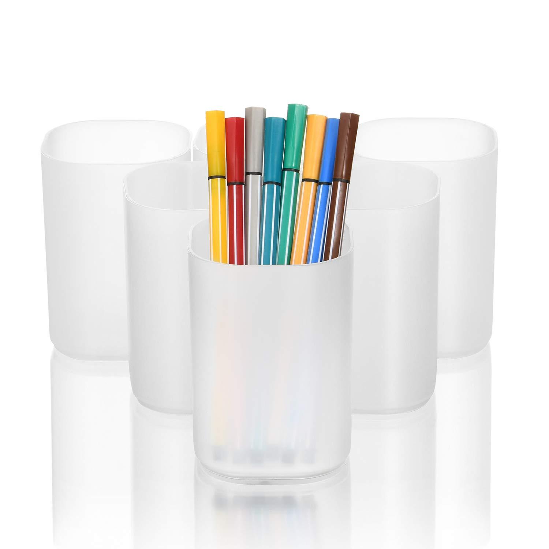 Desktop  Stationery For Office-Round Felt Pen Holder Pencils Holder Storage one