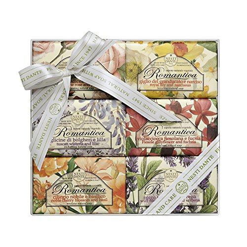 Nesti Dante Romantica Gift Set (6 x 150 g), 1er Pack (1 x 6 Stück)