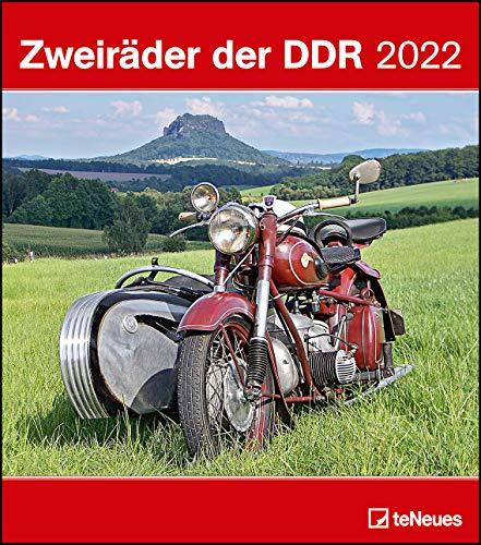 Zweiräder der DDR 2022 - Wand-Kalender - 30x34 -Motorrad: Wochenkalender