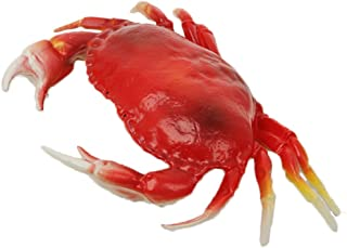 Wayber Lifelike Crab, 13 x 9 inch Super Large Plastic Crabs Model for Home Decor, Restaurant Display, Photography Prop, Kid Pretend Play Toy, Simulated Marine Creatures Collection