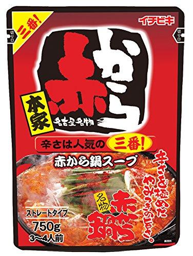 イチビキ『ストレート赤から鍋スープ3番』